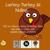 Lurkey Turkey is Hiding (GREEN SCREEN ACTIVITY)