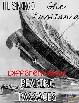 Lusitania Differentiated Reading Passages