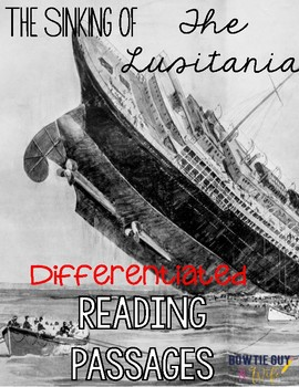 Lusitania Differentiated Reading Passages