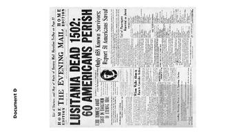 Lusitania Document Analysis