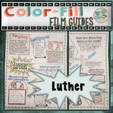 Luther Color-Fill Film Guide Doodle Notes