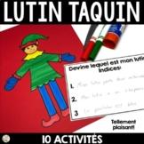 Noël - Lutin Taquin vient visiter la salle de classe (French Elf activities)
