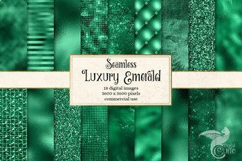 Luxury Emerald Textures