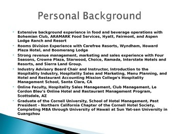 Luxury Hotels and Personalized Service