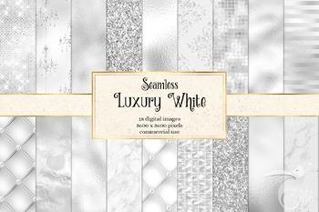Luxury White Digital Paper