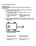 5th Grade Spanish Science Assessment - Luz, fuerza y cambios terrestres