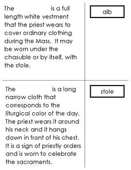 Lvl 2- Description of Priestly Vestments