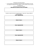 Lyddie Argumentative Writing Graphic Organizer- Common Core NYS Module