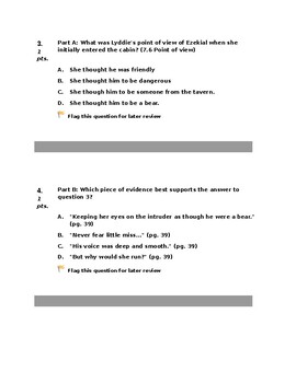 Lyddie Chapter 6 Assessment