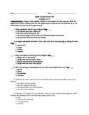 Lyddie Comprehension test chapters 13-17