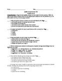 Lyddie Comprehension test chapters 18-23