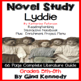 Lyddie Novel Study + Enrichment Project Menu