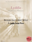 Lyddie by Katherine Paterson Escape Room