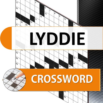 Lyddie crossword puzzle for review