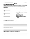 Lyddie - quiz 1 for chaps 1-8