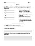 Lyddie - quiz 2 for chaps 9-12