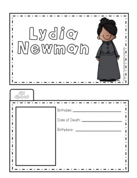 Lydia Newman Writing Tab Book