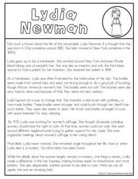 Lydia Newman Writing Tab Book