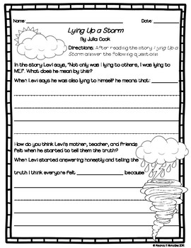Lying Up A Storm Activity