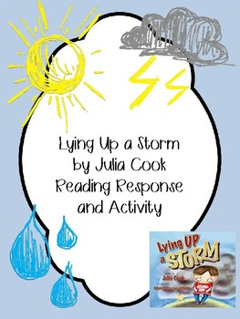 Lying Up a Storm Response, Writing and Activities