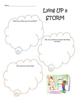 Lying Up a Storm Worksheet