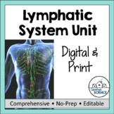 Lymphatic System Unit- PowerPoint, Doodle Notes, Activity, & Diagrams