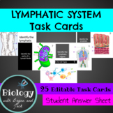 Lymphatic System Task Cards