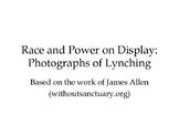 Lynching in the Progressive Era