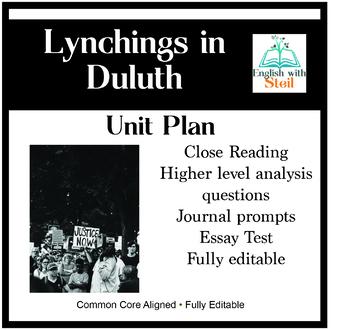 Lynchings in Duluth Unit