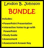 Lyndon B. Johnson BUNDLE- 3rd Grade Social Studies