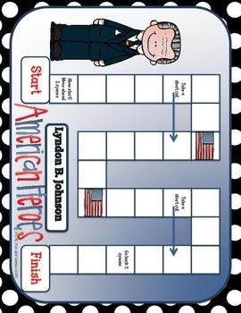 Lyndon B. Johnson BUNDLE Social Studies 2 Game set + more