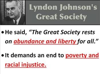 Lyndon B. Johnson POWERPOINT- 3rd Grade Social Studies