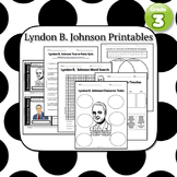 Lyndon B. Johnson Printables