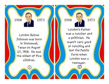 Lyndon B Johnson Scavenger Hunt