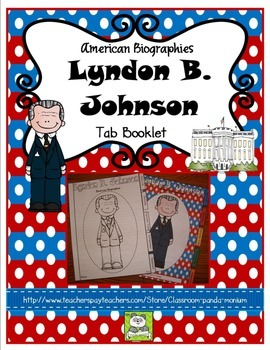 Lyndon B. Johnson Tab Booklet