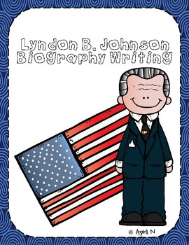 Lyndon B. Johnson Writing Tab Book