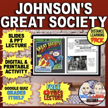 "Lyndon B. Johnson's ""Great Society"" Bundle"