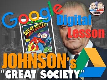 "Lyndon B. Johnson's ""Great Society"" Digital Activity"