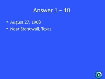 Lyndon B Johnson vs Cesar Chavez Jeopardy