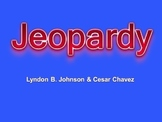 Lyndon B Johnson vs Cesar Chavez Jeopardy