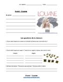 Lyric Gap - Avenir by Louane | Texte à trous  : FSL 7-12 L