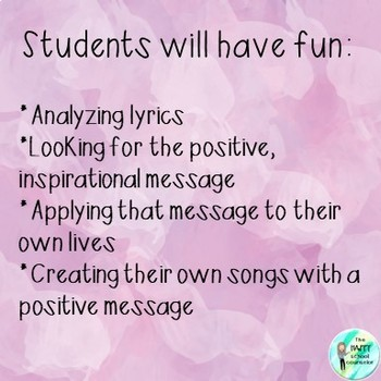 Lyric Listening: Finding & Creating Positive Messages in Music