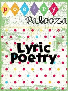 Lyric Poetry Packet
