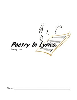 Lyric Poetry Unit Student Packet