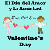 Lyric Sheet for Bilingual Valentine's Day Song