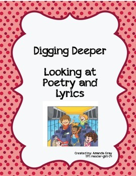 Lyrics and Poetry - Analyzing Word Choice