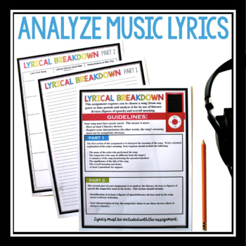 POETRY ANALYSUS MUSIC PROJECT