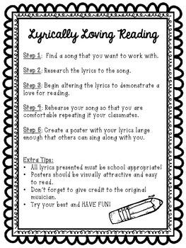 Lyrically Loving Reading