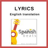 Lyrics (English translation) album Short + Fun Spanish Beats