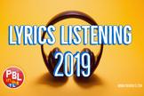 Lyrics Listening Starters 2019